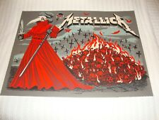 Metallica Oct. 22nd & 24th London England Tour Poster (Both Shows)