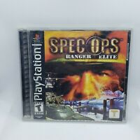 Spec Ops Ranger Elite Playstation 1 Sony Ps1 Psx 2001 Tested Assault Video Game