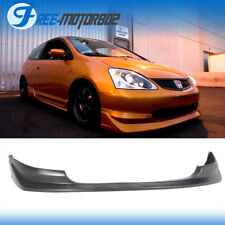 For 03-05 Honda Civic SI 3DR Hatchback AW Style Front Bumper Lip Spoiler PU