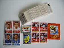 Panini WM 2010, Satz ( 1-638, 00+000 ) + 80 Updates + Klose-Salto + Tüte !!!