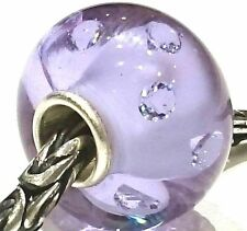 MURANO GLASS MAXI LUXURY BEAD 925 STERLING SILVER OOAK EUROPEAN CHARM BEADS 3144