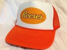 Reese's peanut butter cup Trucker Hat mesh hat snapback hat Orange