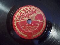 """MICHAEL CHESHIRE """"The Voice In The Old Village Choir"""" 78rpm Eclipse 20cm"""