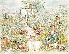Potter Beatrix Peter Rabbit Print 11 x 14   #5341