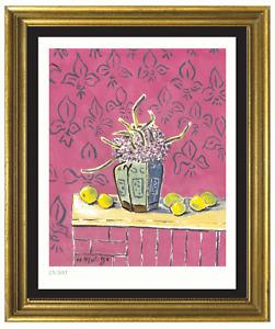 """Henri Matisse """"Still Life W Lemons"""" Signed & Hand-Number Ltd Ed Print (unframed)"""