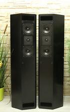 Isophon ODEON Stand Lautsprecher schwarz prima Zustand Speakers, black.