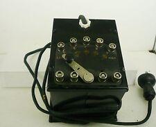 Lionel Standard Gauge No. Type K 110 Volt AC Pre-War Transformer  C-7  MMM