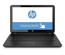 """New HP 15.6"""" HD TouchScreen Laptop Intel Quad Processor 4GB 500GB Window 10 WiFi"""
