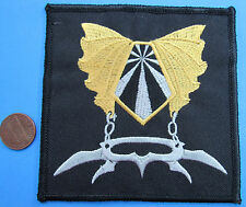 "Patch vtg Star Trek Tos - Klingon House of Khaless Crest - Weapons - 4""!"