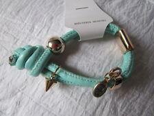 Armband Kunststoff Türkis Knoten