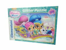 Shimmer & Shine Glitter Jigsaw Puzzle 104 Pieces Nickeldeon Puzzle NEW BOXED