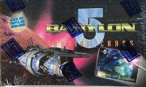 Babylon 5 1996 Trading Cards Sealed Box by Fleer Skybox