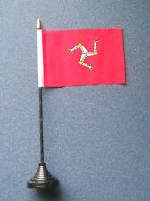 Isle of Man Desk Table Top Flag