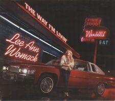 Lee Ann Womack - The Way I'm Livin' CD Sugar Hill 2014 Very Good