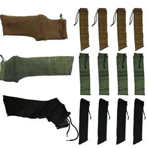 12 × Handgun Pistol Gun Sock Cover Storage Sleeve Silicone Treated Case Hunting