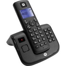 Schnurloses Telefon Motorola T211 Freisprechen Anrufbeantworter schwarz +B-Ware