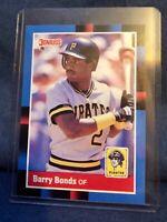 1988 Donruss #326 Barry Bonds Pittsburgh Pirates