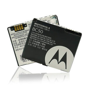 ORIGINAL Motorola Akku BC50 Accu für KRZR K1 K2, SLVR L2 L6 L7, RAZR V3x, AURA