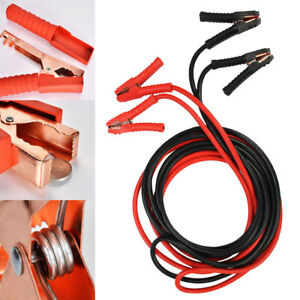 3000AMP Jump Leads Heavy Duty Battery Start 6 Metre Booster Cables Car Van