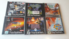6 x PS1 Playstation One Games Bundle inc. Jungle Book, GTA 2, Star Trek
