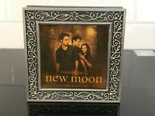 VINTAGE TWILIGHT SAGA LOVE TRIANGLE JEWELRY TRINKET BOX NEW MOON NECA PEWTER