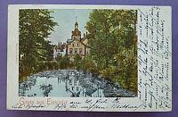 July 20,1906 postcard ''Gruss aus Einsiedel'' bei Chemnitz, Saxony, Germany