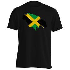 New Jamaica Flag Travel World Men's T-Shirt/Tank Top m144m