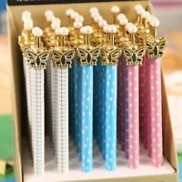 Butterfly Mechanical Pencil Kawaii Pearl Automatic Pencils Kid Girl Gift School