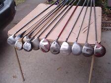Bulk Lot 12 RH Older Driver Golf Clubs TaylorMade, Titleist, Adams