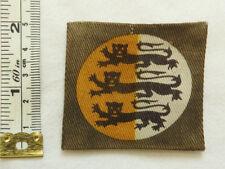 Original Rare Military WW2 Dorset County Division HQ Formation Cloth Badge (5061