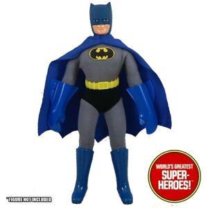 """Mego Batman COMPLETE Outfit Repro Boots Cape Belt Gloves Decal Emblem 8"""" Figure"""