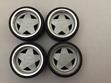 1/18 scale Modified Tuning REAL ALUMINIUM BORBET WHEELS