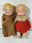 """CAMPBELL Campbell's Kid Kilt Girl 1960s 10"""" Doll Outfit VINTAGE Fashion Lot of 2"""