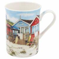 Set 4 Sandy Bay Beach Design Coasters Shabby Chic Macneil Studio