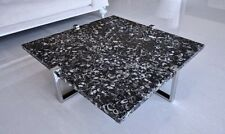 Modern Coffee Table - Marble Top Coffee Table - End Table - Center Table Circle