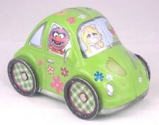 MUPPETS VW BUG BETTLE Tin Toy Car Miss Piggy Kermit Animal Fozzie Gonzo Rizzo
