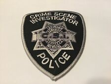 LAS VEGAS POLICE CRIME SCENE INVESTIGATOR SUBDUED  PATCH