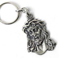 Jesus Christ Keychain Christian Metal Key Ring Religious Charm Figurine Crucifix
