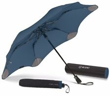 BLUNT XS_Metro NAVY BLUE Compact Collapsible/Folding Automatic Umbrella