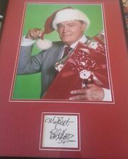 Bob Hope signed 11X14 framed and matted  JSA   HOLIDAY SALE