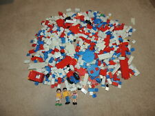 Vintage Lot of Entex Loc Blocs Mixed Lot Gears Bricks Blocks and Figures