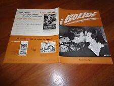 BROCHURE,I BOLIDI,The Green Helmet Bill Travers, Ed Begley jr, AUTO CAR RACE