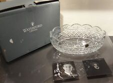 "*NEW* Waterford Crystal IRISH TREASURES Oval Bowl 11 1/8"" NEW IN BOX! 3rd ED"