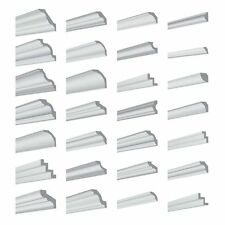 XPS Stuck Decken und Wandleisten, Profiqualität, steichbar, alle Formen & Größen