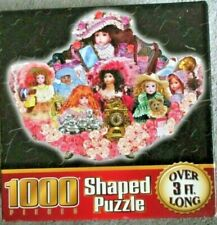 """Sure-Lox Shaped 1000 Piece Jigsaw Puzzle """"What A Doll"""" 3ft Long 36.25"""" x 28"""" NEW"""