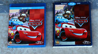 DISNEY CARS BLURAY + DVD + SLIPCOVER (2 DISC SET)