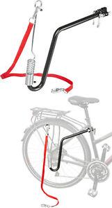 P4B Fahrrad Hundeleine Abstandshalter mit Federung Fahrradhalter inklusive Leine
