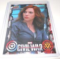 Captain America Civil War Trading Card Black Widow/Scarlett Johansson #21