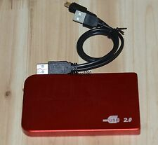 red USB2.0 120GB External Hard Drive HDD Portable Laptop Mobile Hard Disk