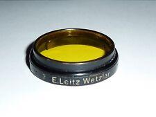 Leica / Leitz  Gelbfilter 2   A36